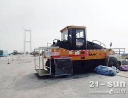 三一设备助力虎门二桥项目建成