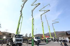 中联重科混凝土机械全国巡展登陆南京