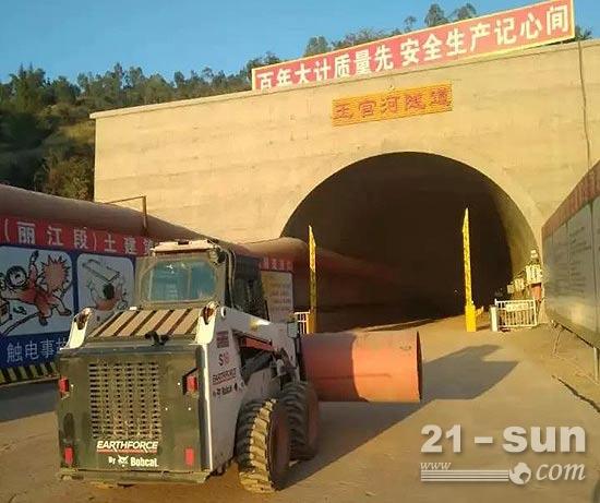 一机多用,王官河隧道中的山猫Earthforce S16这样征服客户!