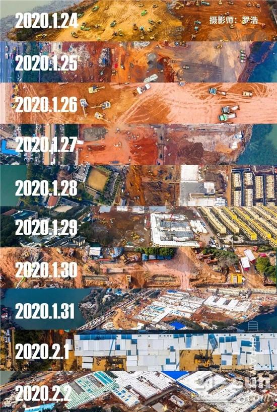 三一助力中国极速!10天建成火神山,工程机械人告诉你到底有多难!