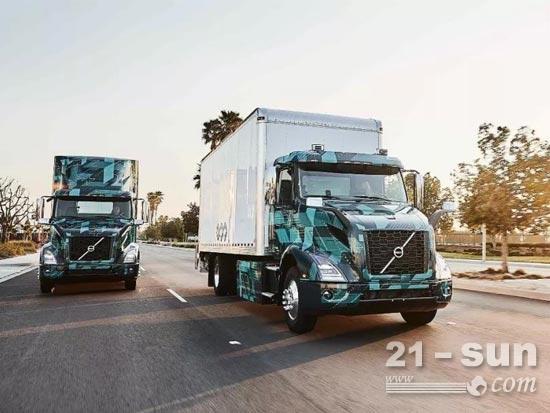 沃尔沃卡车在北美展示全新重型电动卡车