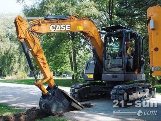 凯斯CX75sr挖掘机开始开工求职了!
