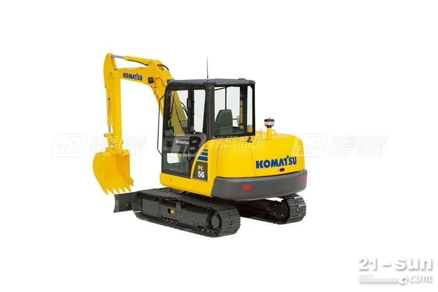 高性价比挖掘机,小松PC56-7挖掘机怎么样?