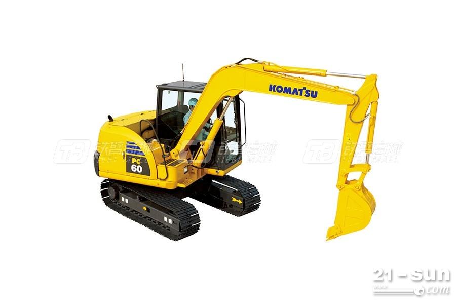 小松PC60-8挖掘机——最省油的液压挖掘机?