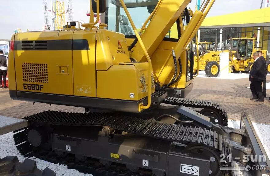 新小挖机 ,山东临工E680F挖掘机怎么样?
