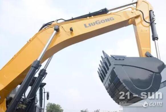 """柳工950E挖掘机,客户口中的""""矿山专家"""""""