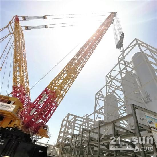 """40℃、8天、4台超大件反应器,""""世界第一吊""""阿曼再创辉煌"""