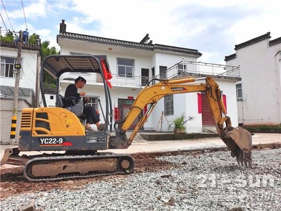安徽黃山張老板:玉柴挖掘機是我人生的新起點