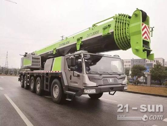 130吨全地面起重机:中联重科ZAT1300V753介绍