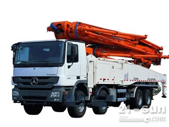 中联重科53米混凝土泵车,树立全球标杆