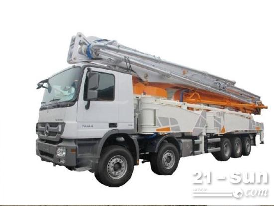 中联重科5桥67米钢臂架泵车有哪些特点