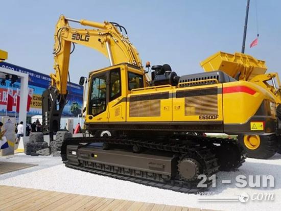 全能型矿山挖机:山东临工E6500F挖掘机