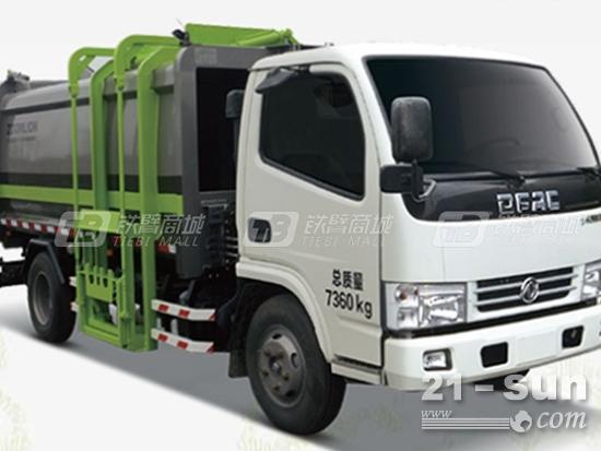 中联重科ZLJ5073ZYSEQE5压缩式垃圾车有哪些特点