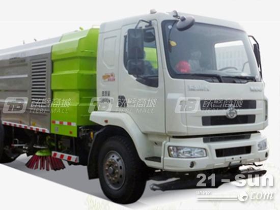 环卫大咖秀:中联重科ZLJ5160TXS洗扫车