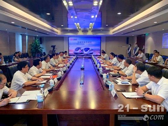 新项目!徐工与中国中车签订合作协议