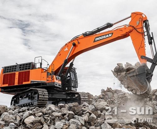 斗山DX800LC-9C挖掘机,矿山机型的选择