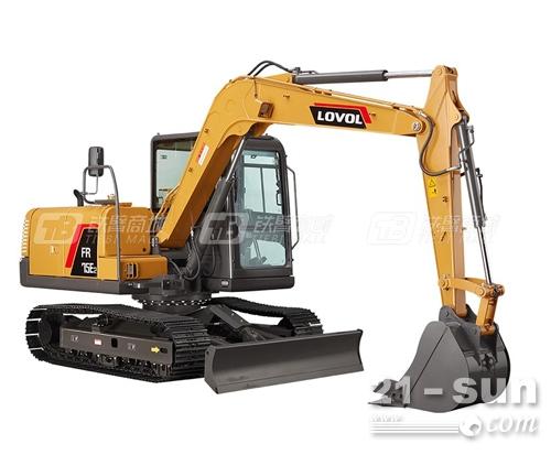 雷沃FR75E2履带挖掘机,城市建设的好帮手