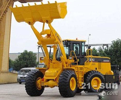 广交会高度评价厦工XG955H装载机,高效可靠