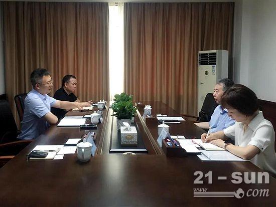 BICES 2021走进系列报道之机械贸促会拜访广西商务厅和贸促会