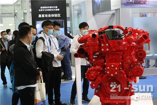 康明斯亮相中国澳门新葡亰平台游戏工程学会年会暨展览会