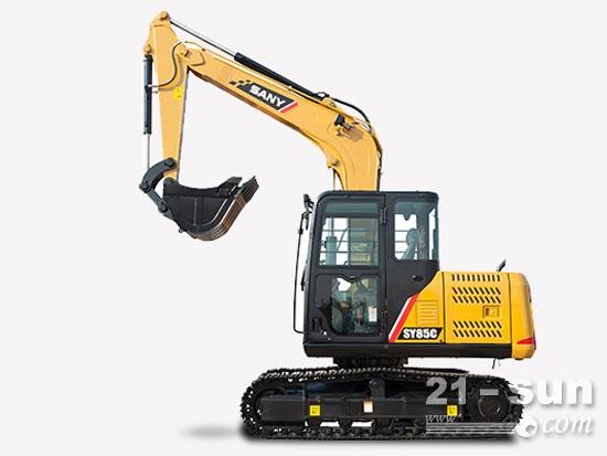 高效大挖的典范,三一SY85C履带式挖掘机