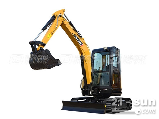 三一SY35U微型挖掘机,工程机械的后起之秀