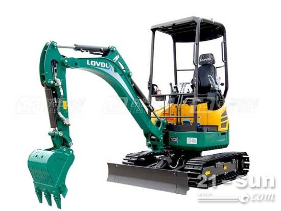 明星挖掘机:雷沃重工FR18E2-u挖掘机
