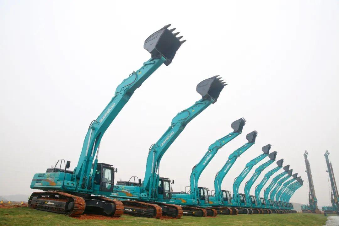 蓝冠机械网首页抢滩机械制造业新高地,山河智能工业城三期项目开工