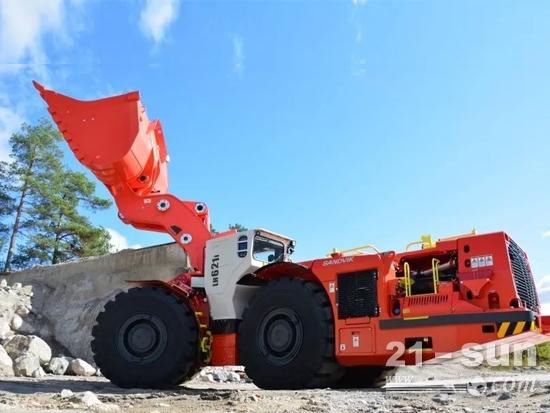 全新山特维克LH621i铲运机 做好准备迎接自动化开采