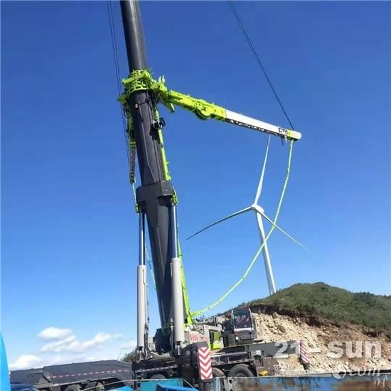 【服务故事】至诚服务,一路同行——回首2020年中联重科工程起重机助力风电施工