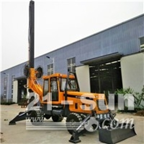 地基打桩机 小型旋挖钻机 高压线塔打桩机