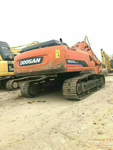 斗山顿贬300-7在线配资网挖掘机
