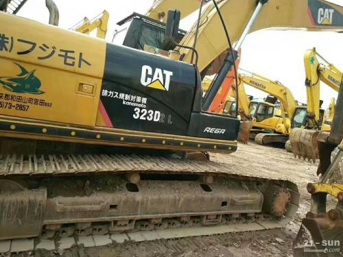 卡特彼勒CAT323D2二手挖掘机