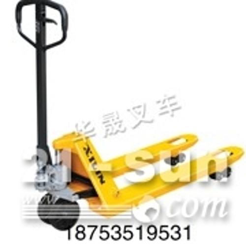 招远西林叉车/304不锈钢防锈冷库专用手动液压车/镀锌托盘搬运车定制