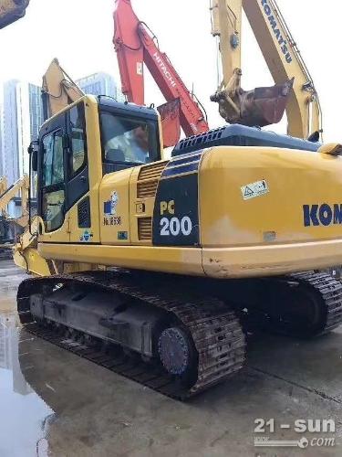 小松200-8二手挖掘机
