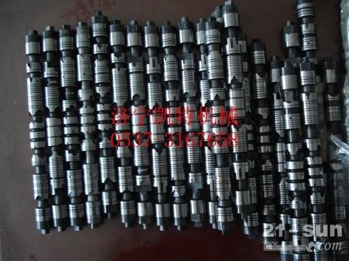 小松原装PC300-7阀芯、阀杆 挖掘机配件