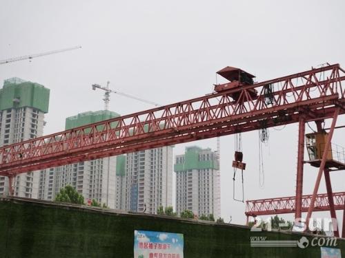 广西百色龙门吊出租50吨梁场使用