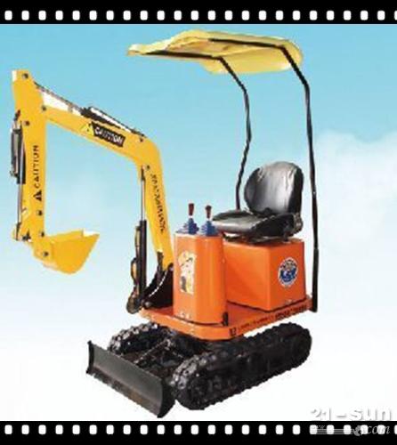 园林农用多功能作业小挖掘机