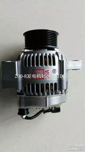 小松PC200-8发电机 挖掘机配件