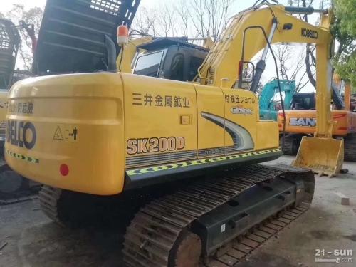 神钢SK200D二手挖掘机
