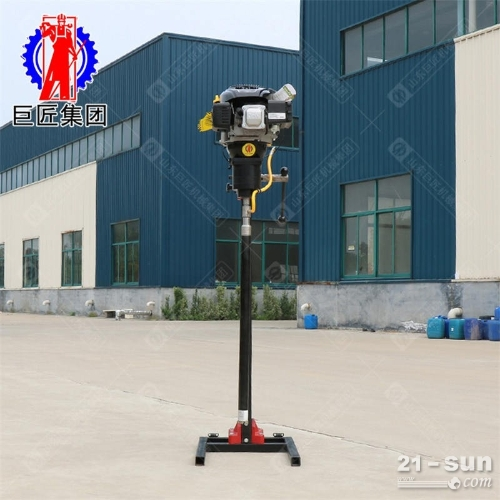 BXZ-2L 可拆卸取岩心钻机背包钻机重量轻方便携带上手都会用