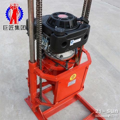 提钻更方便它适用于工业和民用建筑、QZ-2CS型卷扬机款汽油机取样钻机