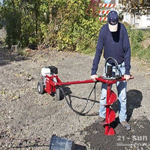 超钻螺旋土壤钻孔机