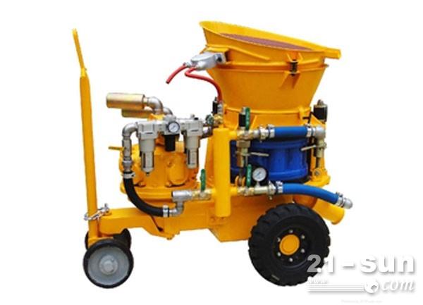 热喷补作业耐火材料喷浆机