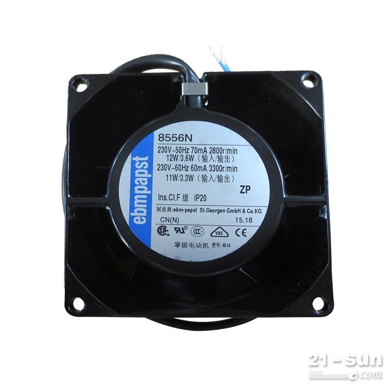 ebm低耗节能风机8556N金属轴流耐高温散热风扇