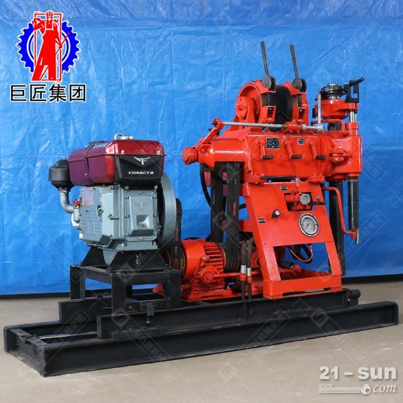 巨匠供货液压岩心钻机XY-180型180米地质勘探钻机动力充沛
