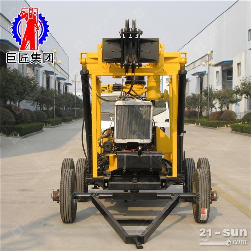 600米轮式液压水井钻机xyx-3型中深孔岩心钻机地质勘探钻机