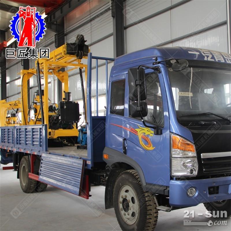 巨匠供应车载液压钻机XYC-3勘探岩心钻机云内YN27柴油机动力足