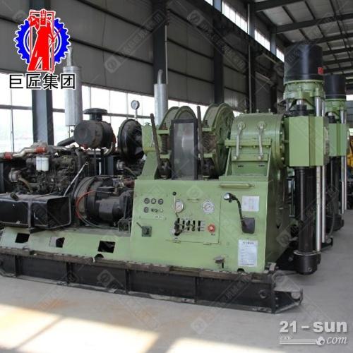 巨匠供货两千米液压勘探岩心取样钻机XY-8玉柴177kw柴油机动力