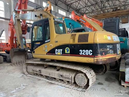 卡特彼勒CAT320C二手挖掘机
